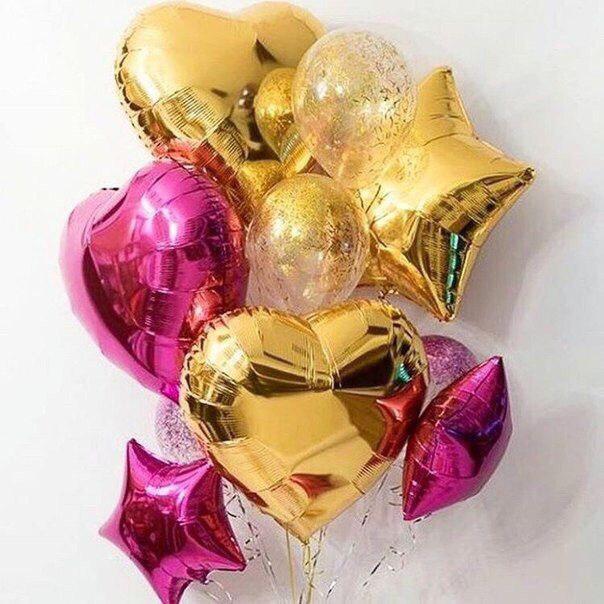 Купить воздушные шары с гелием в Днепре