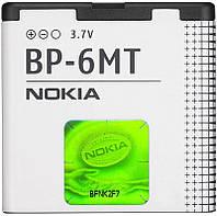 Батарея (АКБ аккумулятор) BP-6MT для телефонов Nokia, 1050 mAh, оригинал