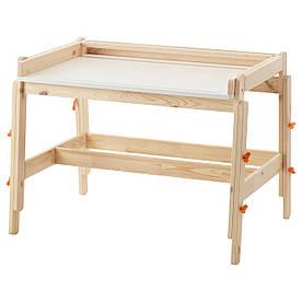 IKEA FLISAT (202.735.94) Письменный стол для ребенка, регулируемый