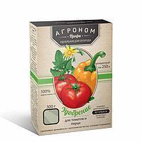 Удобрение кристаллическое для помидоров и перца, 300г.