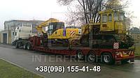 Международные перевозки негабаритных грузов Литва - Украина. Аренда трала. Негабарит