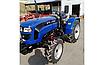 Трактор Foton Lovol FT244HX (3 цил., ГУР, КПП (4+1)х2, колеса 6.50х16/11,2х24, блокування диференціала), фото 2