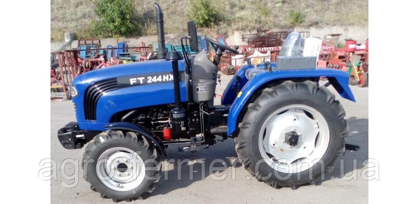 Трактор Foton Lovol FT244HX (3 цил., ГУР, КПП (4+1)х2, колеса 6.50х16/11,2х24, блокування диференціала)