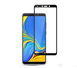 Защитное стекло 5D Samsung A9 2018 (A920), чёрное