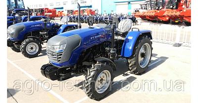 Трактор Foton Lovol FT244HXN (3 цил., ГУР, КПП (4+1)х2, колеса 6.50х16/11.2х24, блокування диференціала)