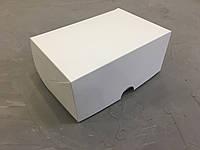 Белая коробка для капкейков и десертов,  180х120х80 мм
