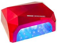 Лампагибридная 36 Ватт гибрид Уф для геля и гель лака Lamp LED+UV  36w Diamand