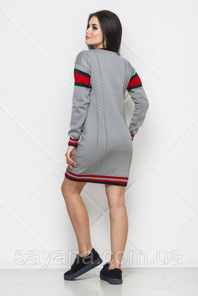 женская вязаное платье Гуччи