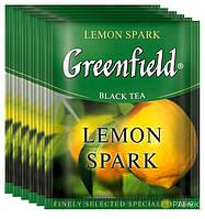 Чорний чай Greenfield Lemon Spark (100 шт) Лимон