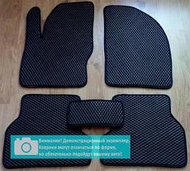 EVA коврики в салон Jaguar F-Pace 2016- (black) (EVA-Standart)