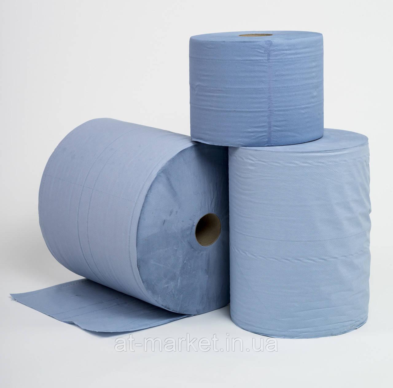 Бумага SERWO двухслойная для очистки в рулонах