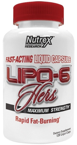 Nutrex	Lipo 6 Hers Maximum Strength 120 caps