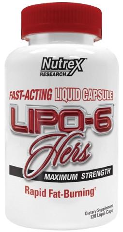 NutrexLipo 6 Hers Maximum Strength 120 caps