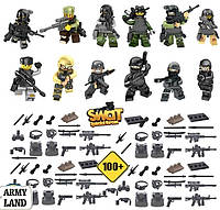Swat Special Forces 12шт., конструктор, аналог лего, Brickarms