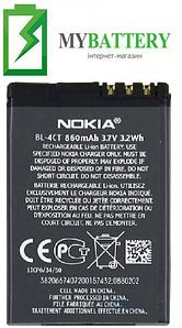 Оригинальный аккумулятор АКБ батарея для Nokia 5310/ X3/ 5630/ 7230/ BL-4CT 860мAh 3.7V