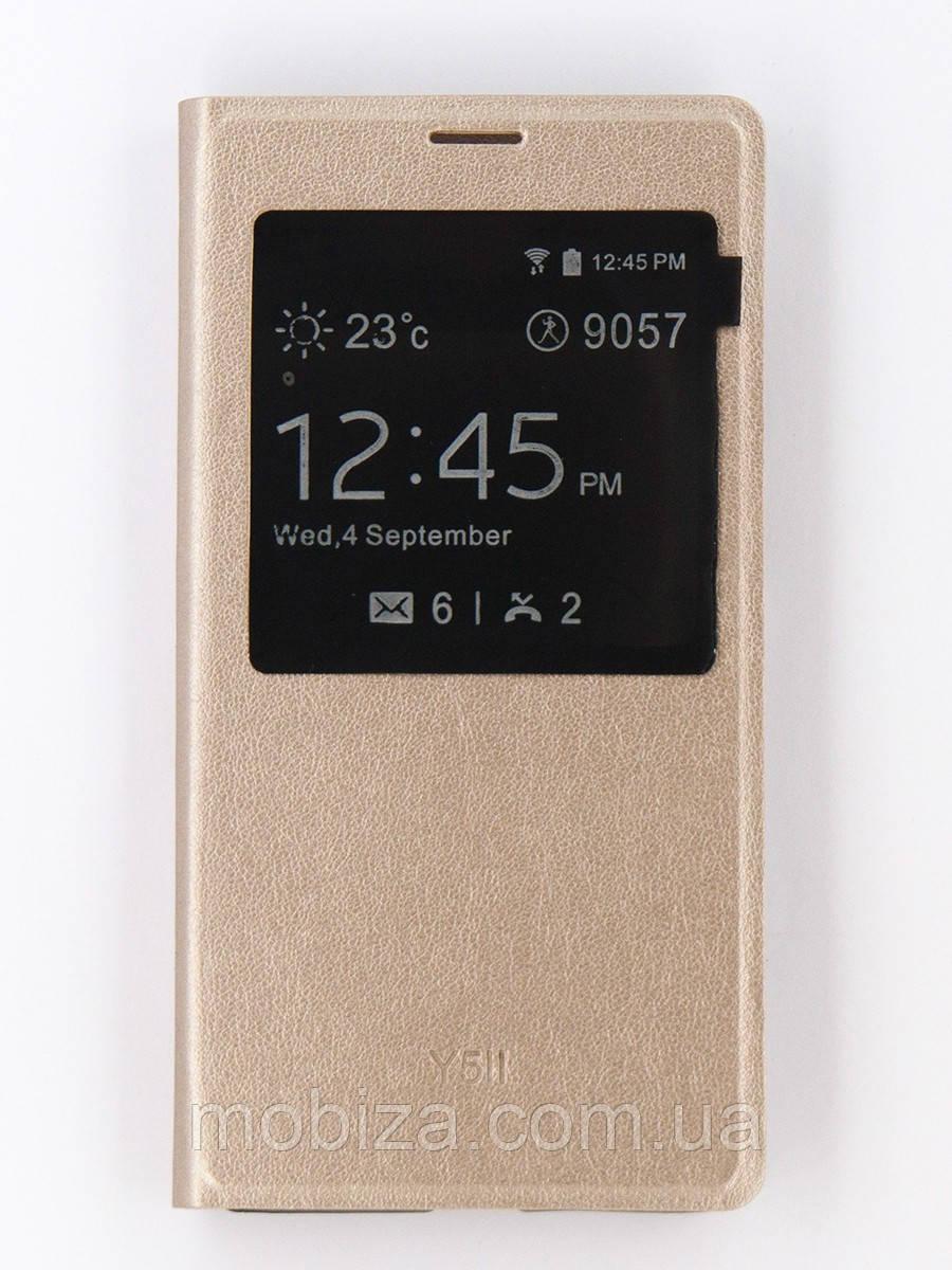 Чохол для мобільного телефону (flipp-BOOK Call ID) для Huawei Y5 II (gold)