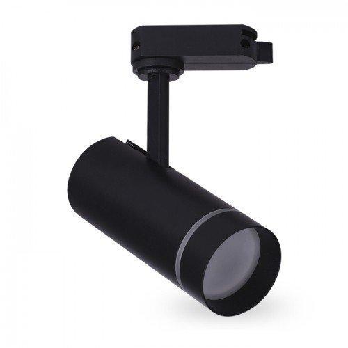 Светодиодный трековый светильник AL-106 18W 4000К черный Код.59443