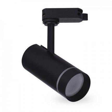 Светодиодный трековый светильник AL-106 18W 4000К черный Код.59443, фото 2