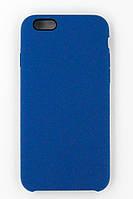 """Чехол-панель Dengos (Back Cover) """"Silicon"""" для мобильного телефону  iPhone 6/6s (blue)"""