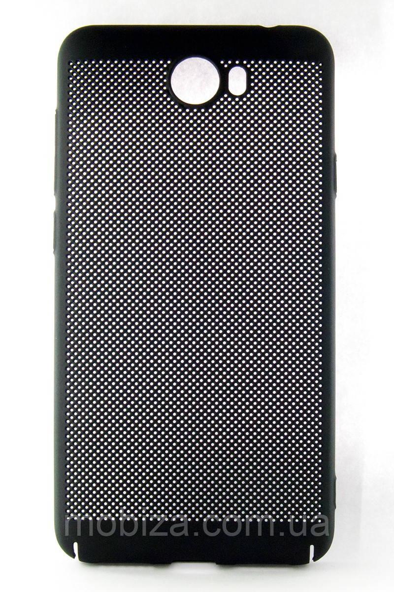"""Чохол-панель DENGOS (BACK COVER) """"Сітка"""" для Huawei Y5 II (black)"""