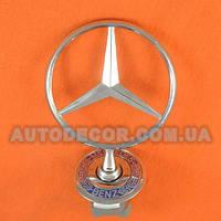 Эмблема прицел на капот Mercedes A210 880 01 86