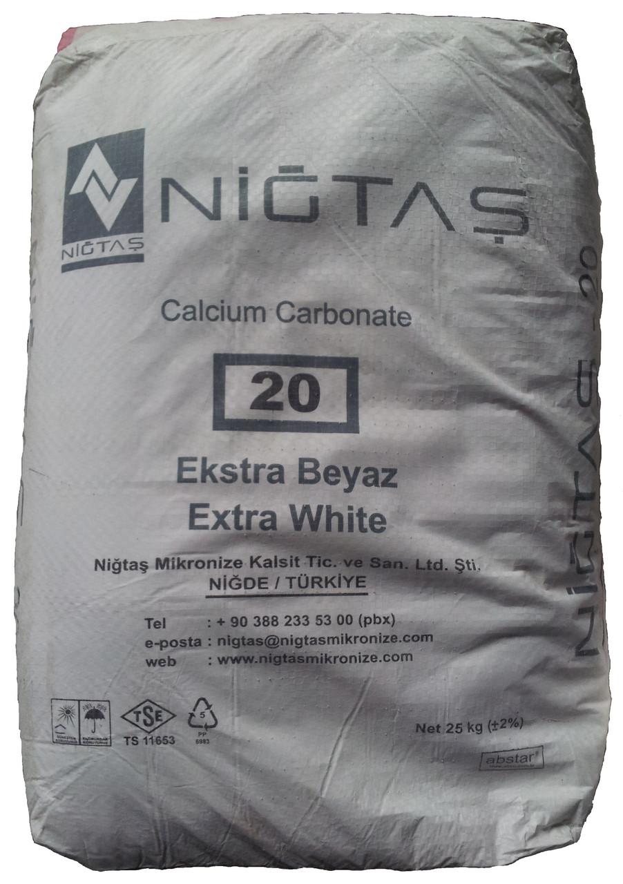 Микрокальцит Nigtas (фракция 20 мкм) 25 кг
