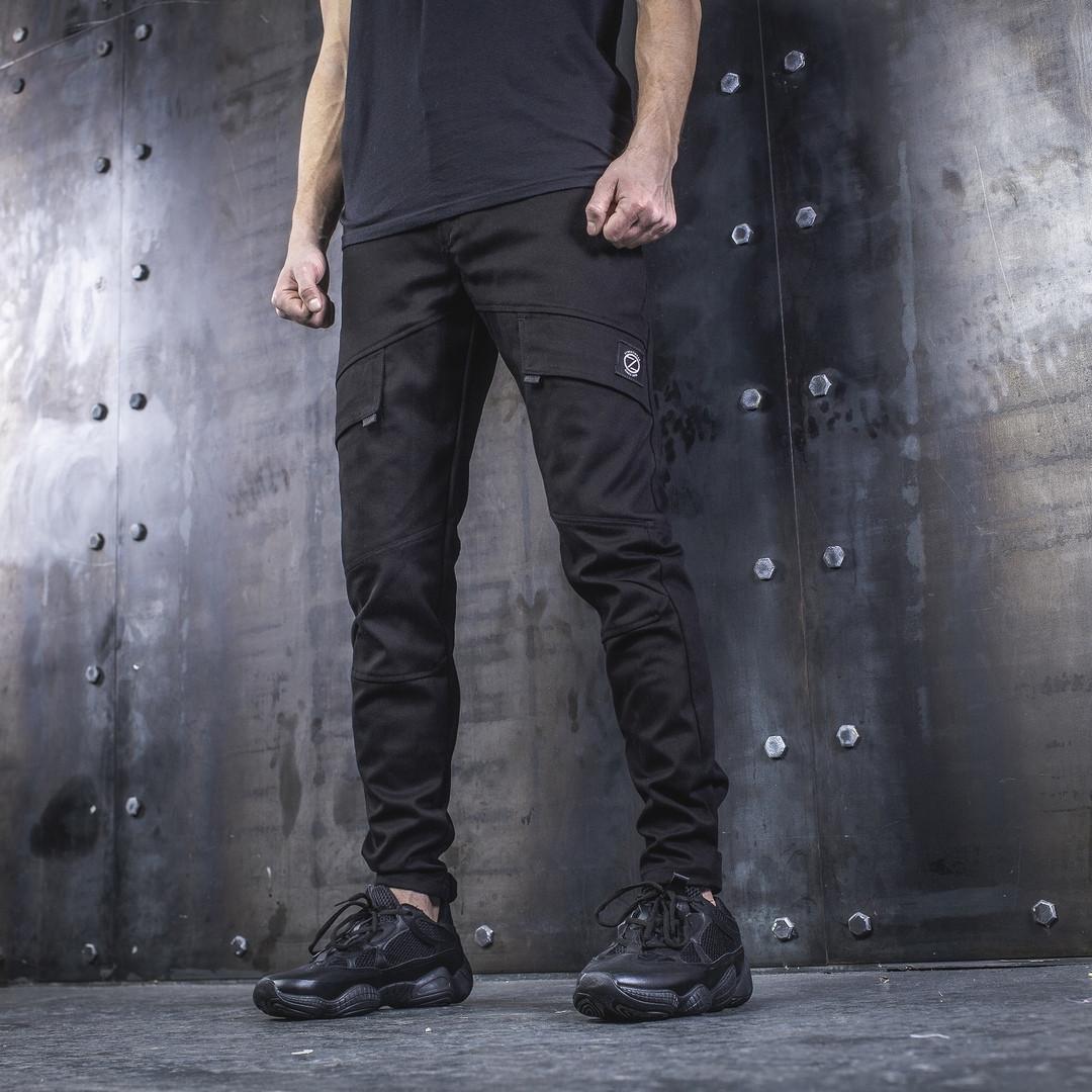 Карго брюки BEZET Battle Black '19. Хлопок