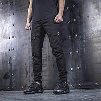 Карго брюки BEZET Battle Black '19. Хлопок, фото 1