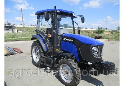 Трактор Foton Lovol FT504CN (50 к. с.. 4 цил-ра, 4х4, КПП(8х8), клеса 8,3-20х12,4-28)