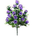 Искусственная роза бутон 24 головы 55 см, фото 3