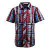 Модная рубашка с коротким рукавом; 98, 110, 116 размер