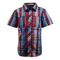 Модная рубашка с коротким рукавом; 98, 104, 110, 116 р-ры, фото 1
