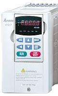 Преобразователь частоты Delta Electronics, 0,7 кВт, 460В,3ф.,cкалаярный,для насосов и вентиляторов,VFD007F43A