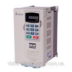 Перетворювач частоти Delta Electronics, 0,7 кВт, 460В,3ф.,векторний, покращений,VFD007V43A-2