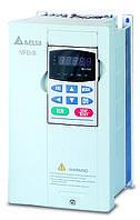 Преобразователь частоты Delta Electronics, 1,5 кВт, 460В,3ф.,векторный, общепромышленный,VFD015B43A