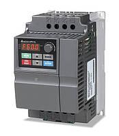 Преобразователь частоты Delta Electronics, 2,2 кВт, 230В,1ф.,скалярный,VFD022EL21A