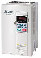 Преобразователь частоты Delta Electronics, 5,5 кВт, 460В,3ф.,векторный, общепромышленный,VFD055B43A