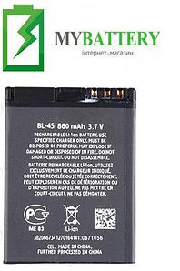 Оригинальный аккумулятор АКБ батарея для Nokia BL-4S 860мAh 3.7V
