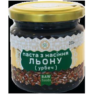 Паста из семян Льна (Урбеч), 200 г