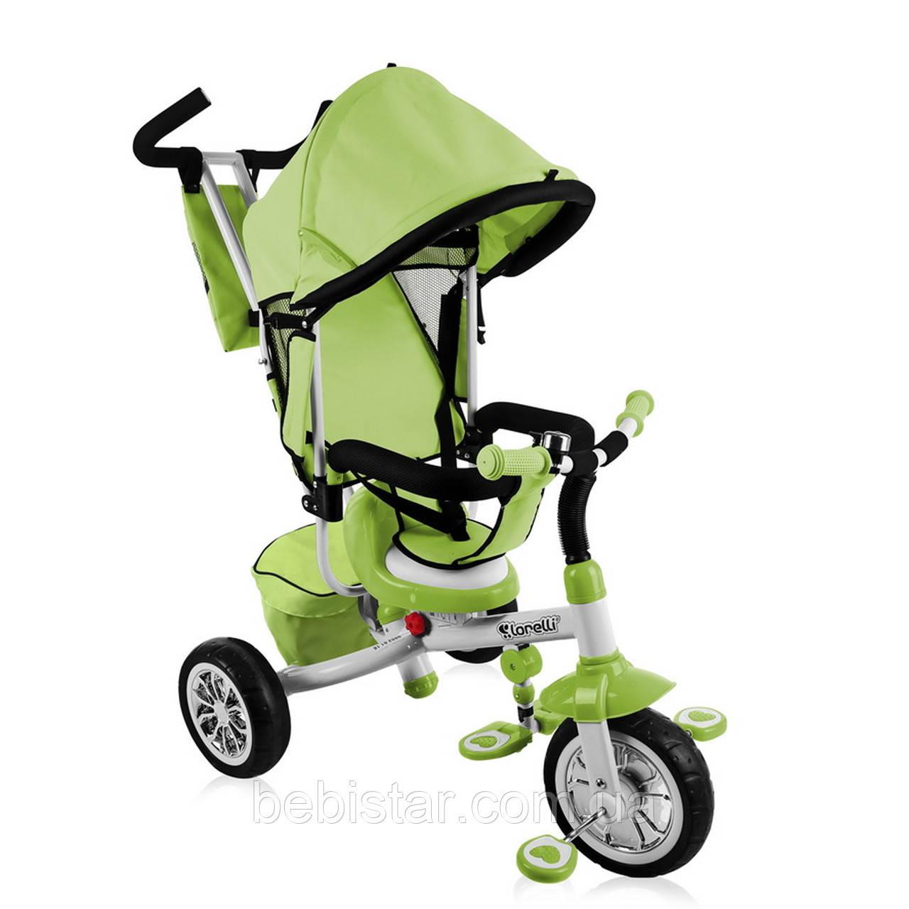 Трехколесный велосипед зеленый Lorelli