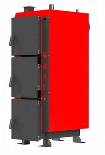 Котел длительного горения Kraft серия L 25 кВт с ручным управлением (Крафт )