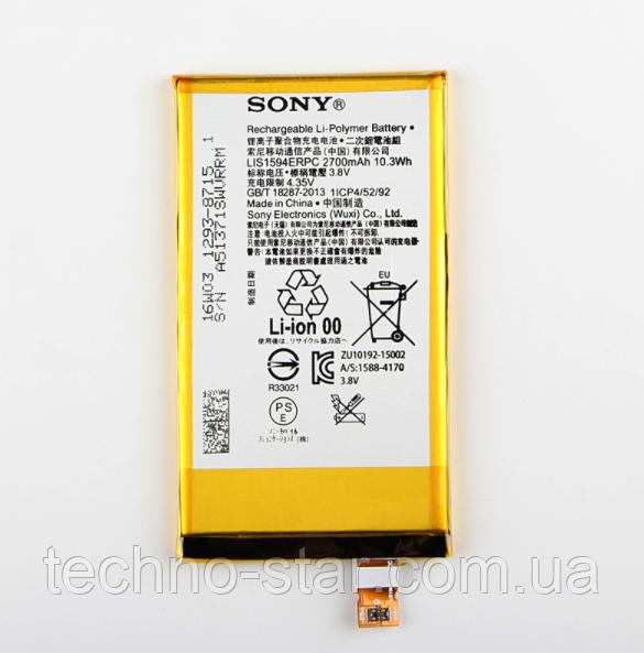 АКБ ОРИГИНАЛ LIS1594ERPC для Sony Xperia Z5 Compact E5803 E5823 | XA Ultra F3211 F3212 F3213 F3215 F3216