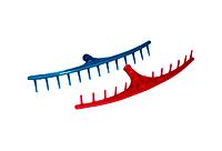 Грабли садовые, пластмасс, усиленные - 13 зубьев.