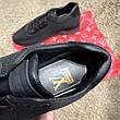 Мужские кроссовки Louis Vuitton Run Away Sneakers Black, фото 2