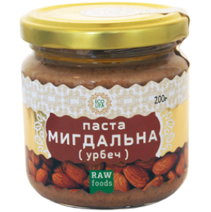 Миндальная паста (Урбеч), 200 г