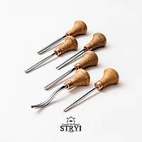 Набор штихелей с 6 шт. для резьбы по дереву от производителя STRYI