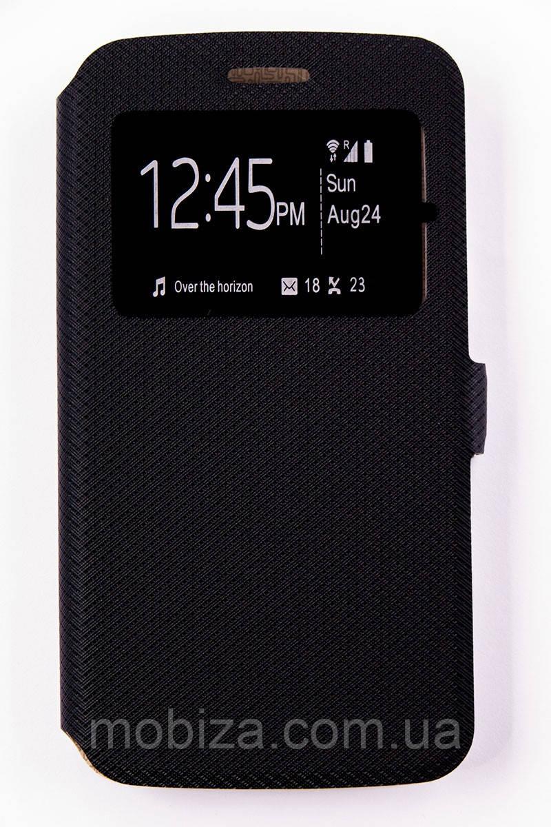 Чохол-Книжка DENGOS (flipp-BOOK Call ID) Motorola Мото С (xt1750) (black)