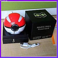 Портативное зарядное устройство Покетбол, Magic Ball Powerbank 10000 mAh