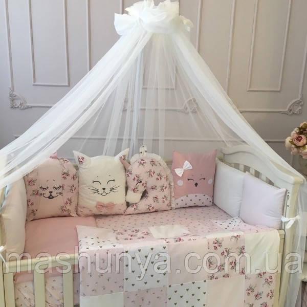 Детский постельный комплект Маленькая Соня Chudiki Classic 6 и 7 элементов