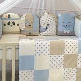 Детский постельный комплект Маленькая Соня Chudiki Classic 6 и 7 элементов, фото 2